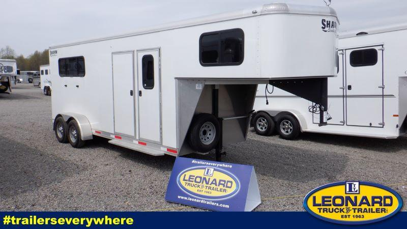 2020  3 HORSE  SHADOW GOOSENECK W/DRESS HORSE TRAILER