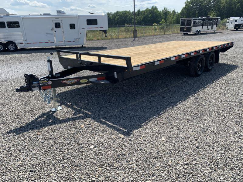 2021 8.5X20 H&H BUMPER PULL EQUIPMENT TRAILER