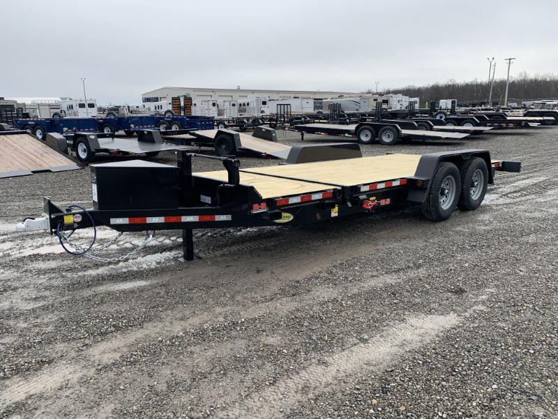 "2021 6'8"" X 20 B-B TAG EQUIPMENT TRAILER"