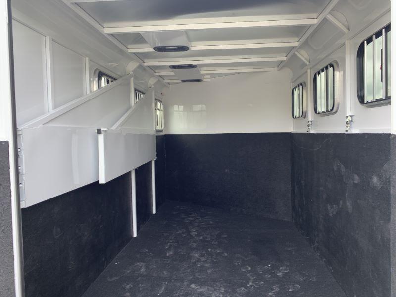 2021  3 HORSE  TRAILS WEST BUMPER PULL HORSE TRAILER