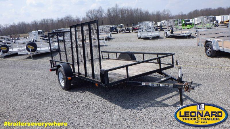 2012  12'  CARRY ON BUMPER PULL UTILITY TRAILER