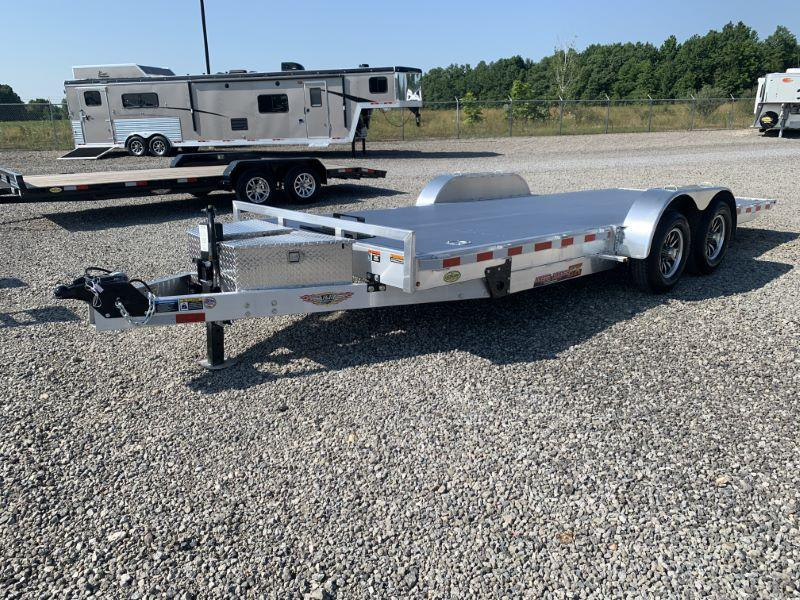 2021  22'  H&H  BUMPER PULL OPEN CAR TRAILER