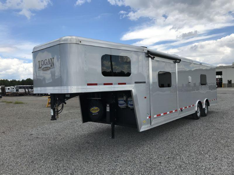 2021 LOAGAN COACH 8.5'X35' GOOSENECK LIVING QUARTERS TOY HAULER WITH 16' GARAGE
