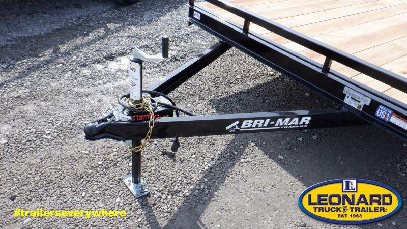2021 18'  BRI-MAR BUMPER PULL EQUIPMENT TRAIELR