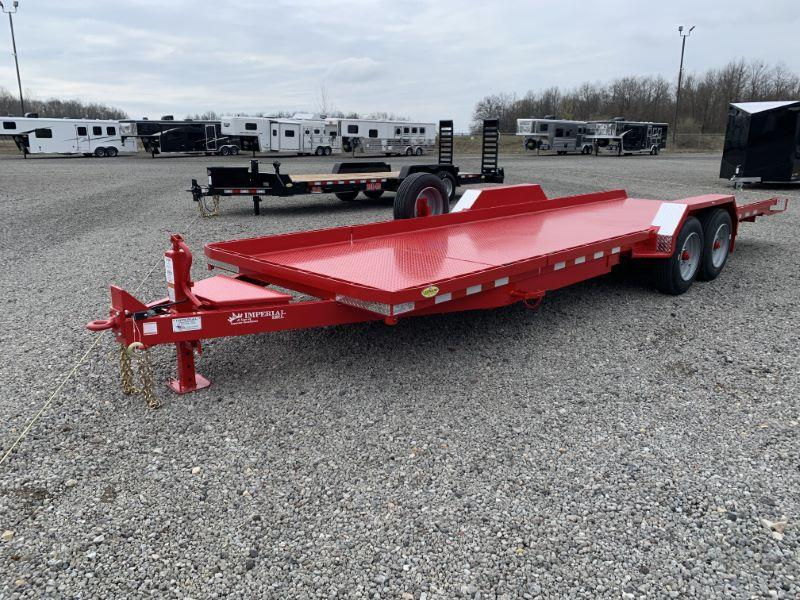 2020 24' IMPERIAL BUMPER PULL EQUIPMENT TRAILER