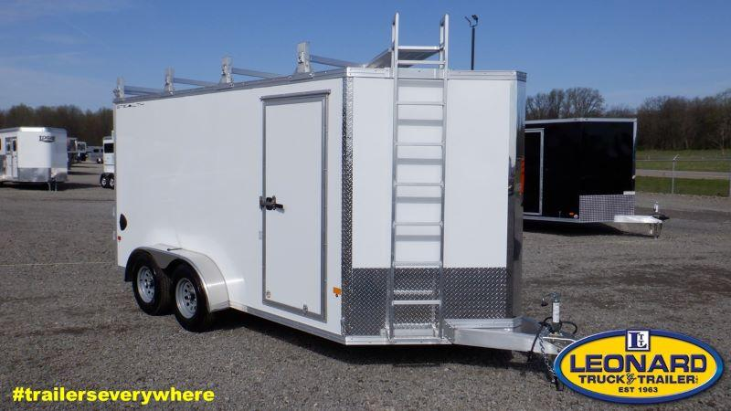 2021 7X14 STEALTH BUMPER PULL ENCLOSED CARGO TRAILER