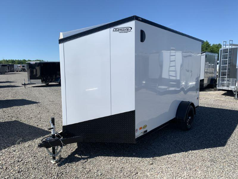 2020 12' BRAVO BUMPER PULL ENCLOSED CARGO TRAILER
