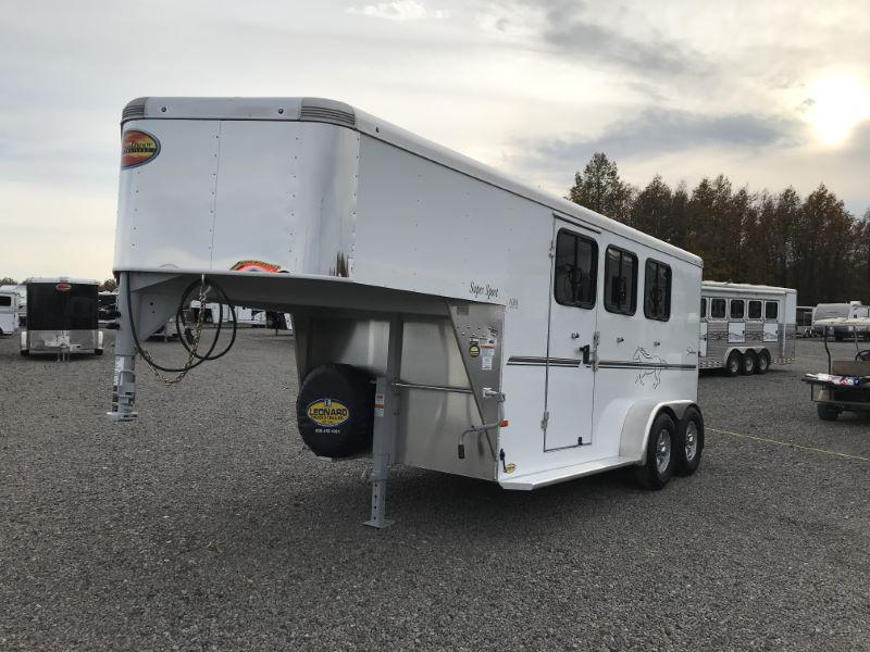 2021  3 HORSE  SUNDOWNER GOOSENECK HORSE TRAILER