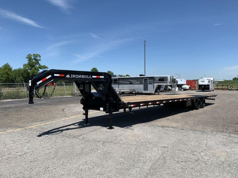2020 8.5 X 40 NORSTAR IRON BULL GOOSENECK EQUIPMENT TRAILER