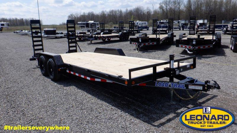 2021  20'  LOAD TRAIL BUMPER PULL EQUIPMENT TRAILER
