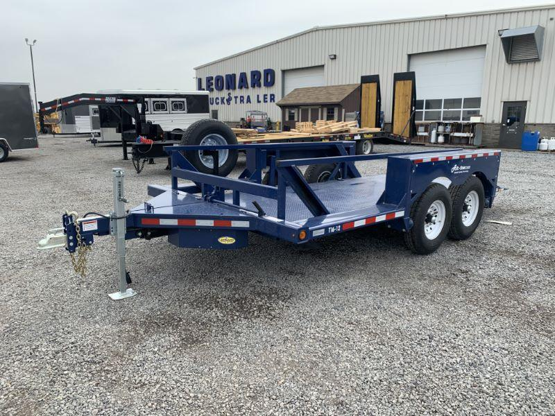 2021 16' AIR-TOW BUMPER PULL EQUIPMENT TRAILER