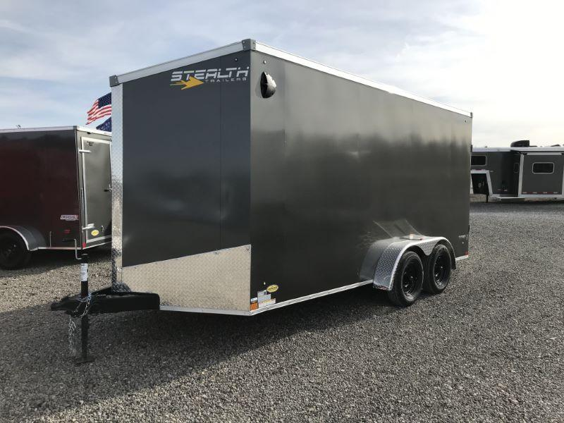 2021  7 X 16 STEALTH BUMPER PULL ENCLOSED CARGO TRAILER