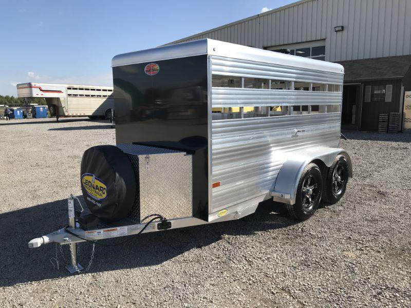 2021 10' SUNDOWNER BUMPER PULL MINI STOCK TRAILER