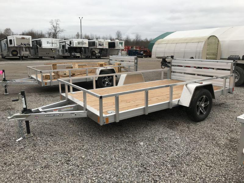2021  12'  STEALTH BUMPER PULL UTILITY TRAILER