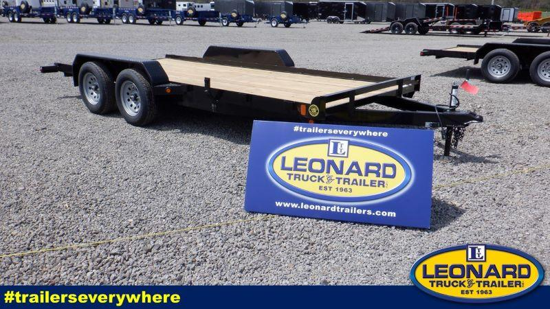 2021  16'  GATOR MADE BUMPER PULL OPEN CAR TRAILER