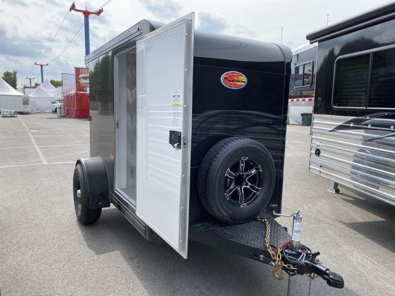 2020 5X8 SUNDOWNER BUMPER PULL ENCLOSED FARRIER TRAILER