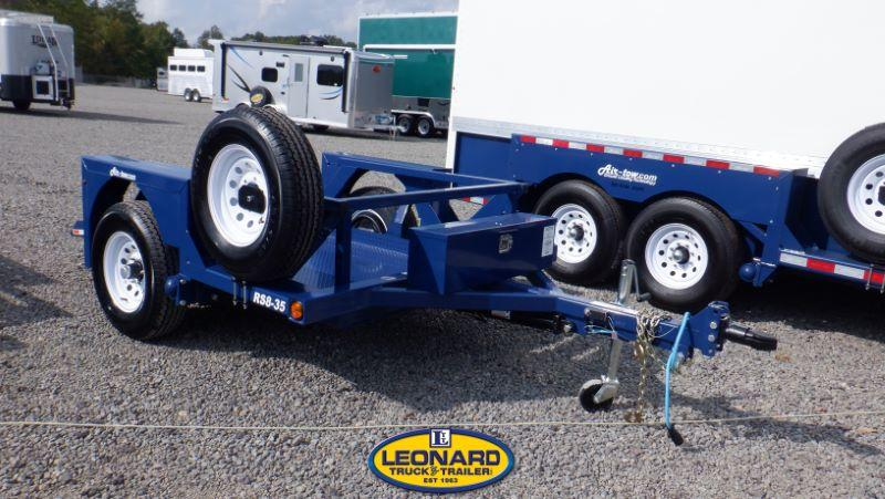 2021 RS 8-35 AIR-TOW HYDRAULIC FLATBED TRAILER