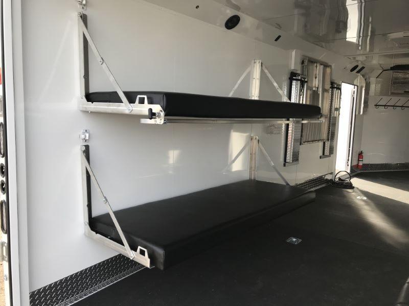 2021  28'   TRAILS WEST ENCLOSED BUMPER PULL TOY HAULER TRAILER