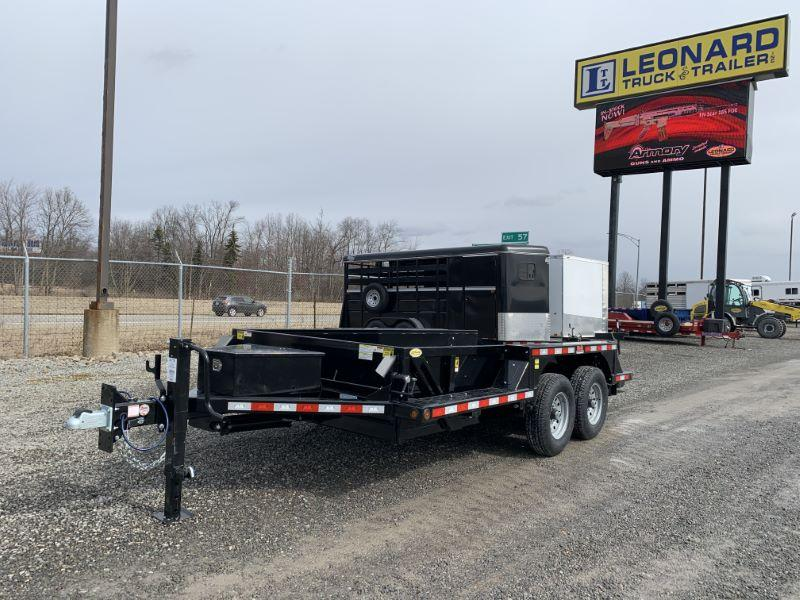 2020 14' B-B HYDRAULIC DROP DOWN TRAILER