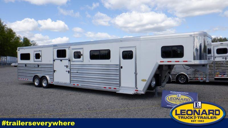 2021 6 HORSE CIMARRON GOOSENECK W/DRESS HORSE TRAILER