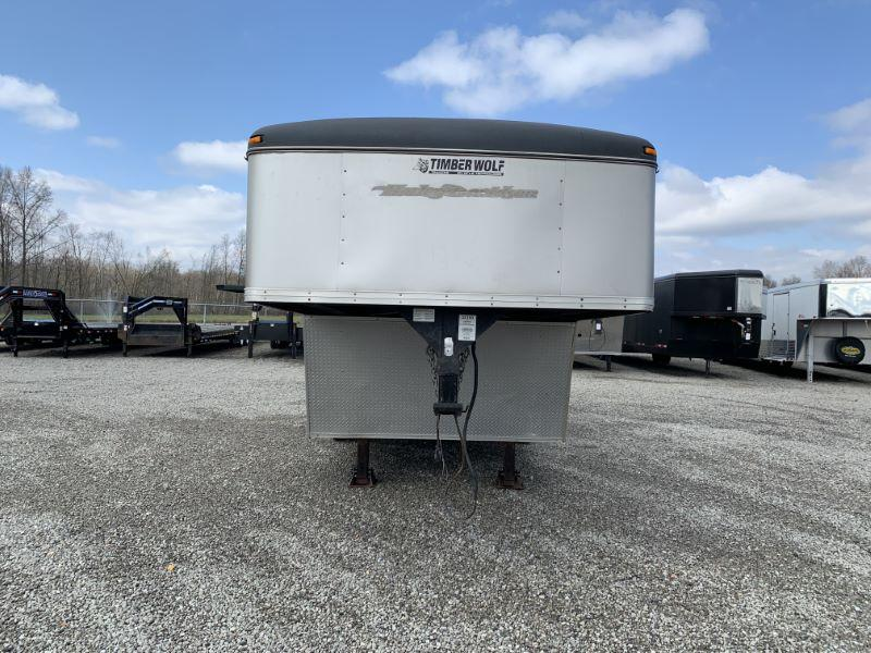 2003 TIMBERWOLF GOOSENECK ENCLOSED TRAILER
