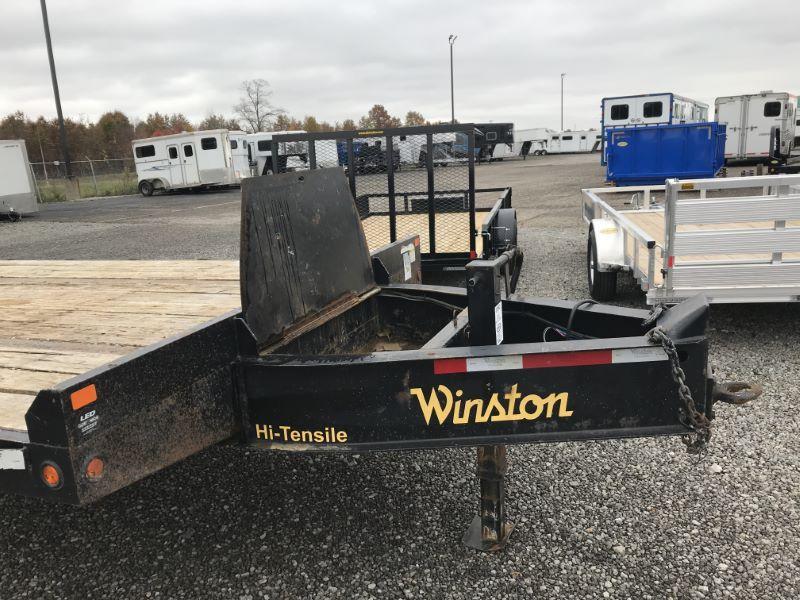2018  25'  WINSTON DECK OVER EQUIPMENT TRAILER