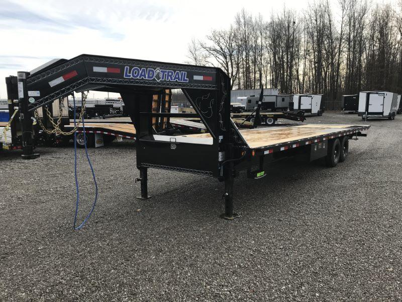 2021 30'  LOAD TRAIL GOOSENECK EQUIPMENT TRAILER