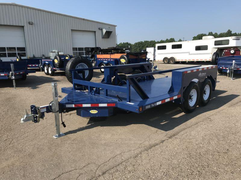2021  16'  AIR TOW BUMPER PULL EQUIPMENT TRAILER