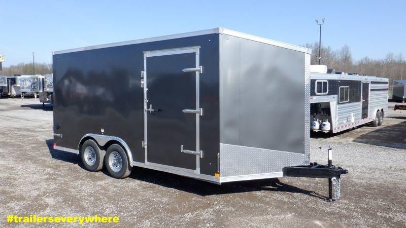 2022 8.5 X 16 STEALTH BUMPER PULL ENCLOSED TRAILER