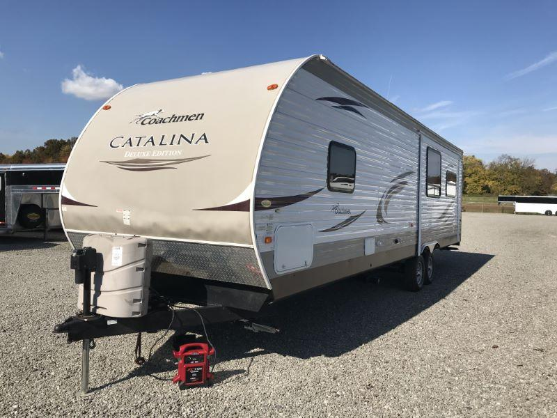 2013  34'  FOREST RIVER CATALINA TRAVEL TRAILER