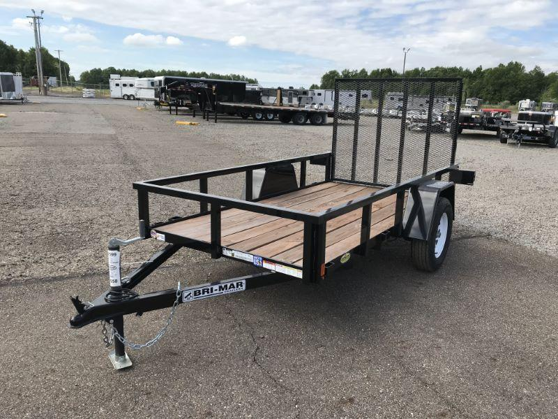 2020 10' BWISE BUMPER PULL UTILITY TRAILER