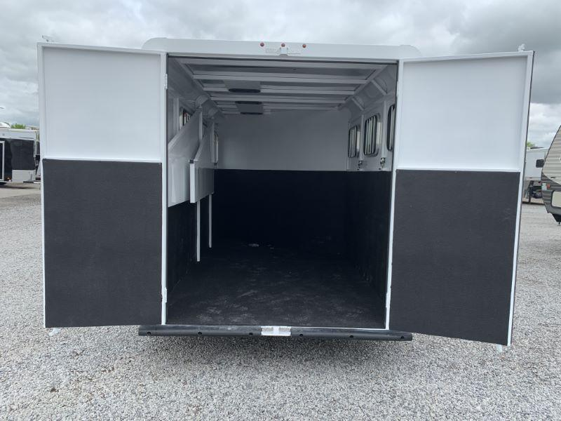 2021  3 HORSE  TRAILS WEST BUMPER PULL HORSE TRAILER