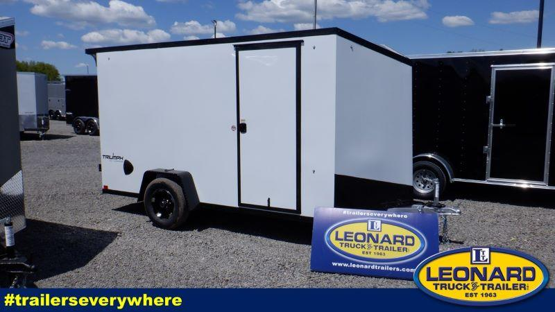 2022 12' FORMULA BUMPER PULL ENCLOSED CARGO TRAILER