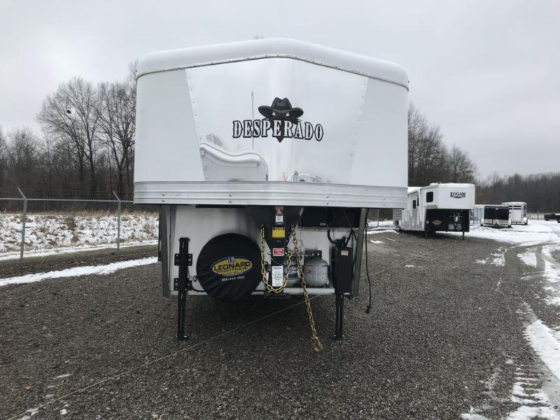 2021  3 HORSE  BISON COACH GOOSENECK WITH LIVING QUARTERS HORSE TRAILER