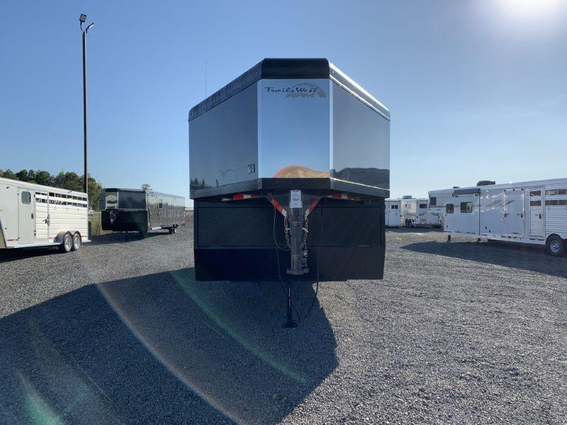 2020 8.5 X 28 TRAILS WEST GOOSENECK SNOWMOBILE TRAILER