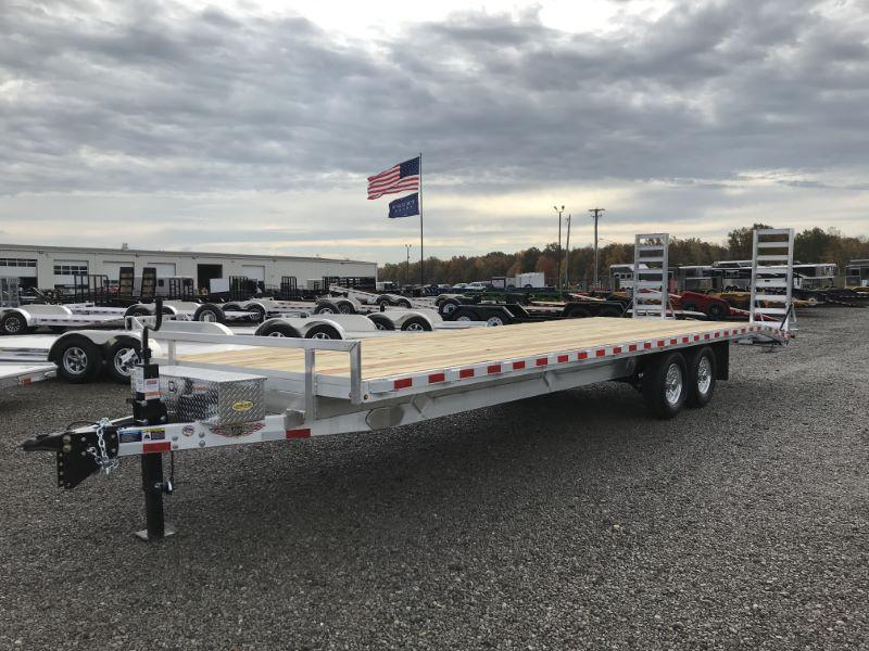 2021 8.5 X 28 H&H DECK OVER TAG EQUIPMENT TRAILER