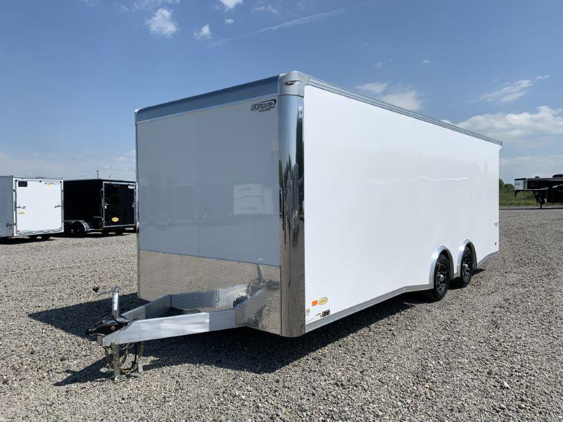 2020 8.5 X 22 BRAVO BUMPER PULL ENCLOSED CAR TRAILER