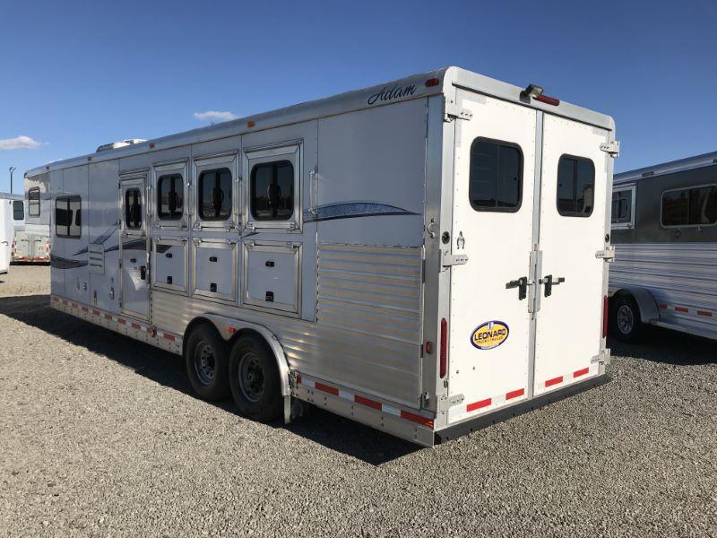 2013  4 HORSE  ADAM GOOSENECK HORSE TRAILER