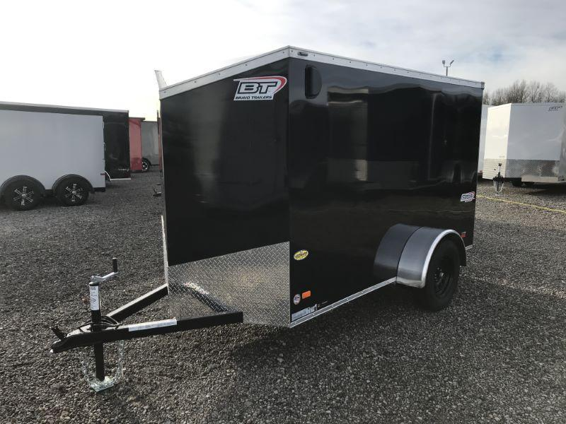 2021 5X10 BRAVO BUMPER PULL ENCLOSED CARGO TRAILER