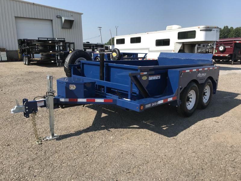 2019 6X10 AIR-TOW BUMPER PULL EQUIPMENT TRAILER