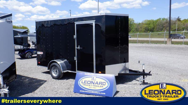 2021 6 X 12 BRAVO BUMPER PULL ENCLOSED TRAILER