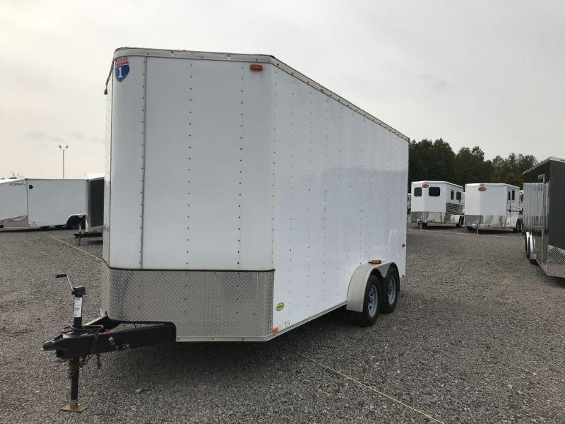 2011  16'  INTERSTATE BUMPER PULL ENCLOSED CARGO TRAILER
