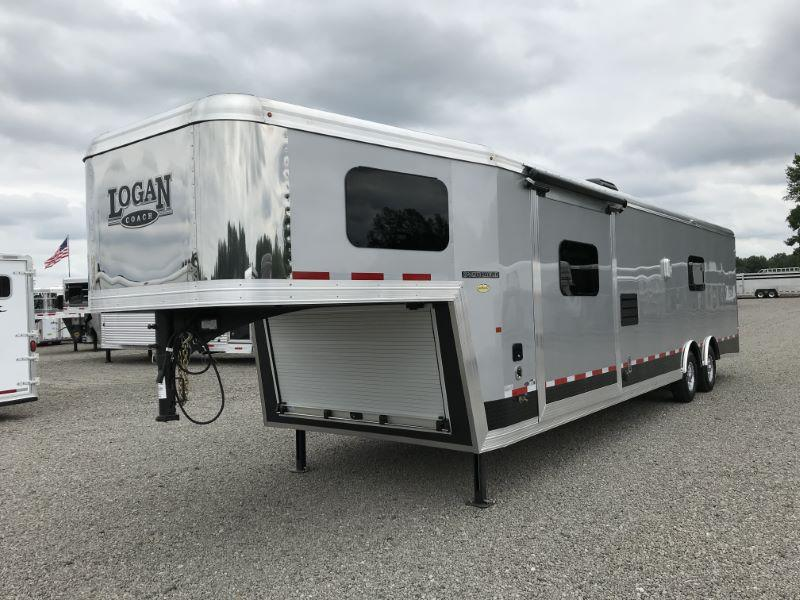 2021 LOGAN COACH 8.5'X38' GOOSENECK LIVING QUARTERS TOY HAULER WITH 16' GARAGE