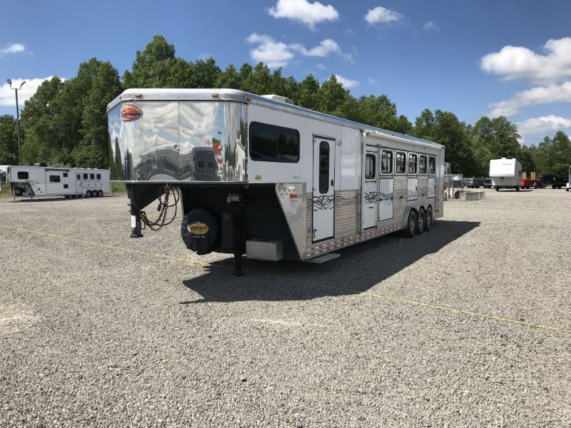 2007 6 HORSE SUNDOWNER GOOSENECK W/DRESS HORSE TRAILER