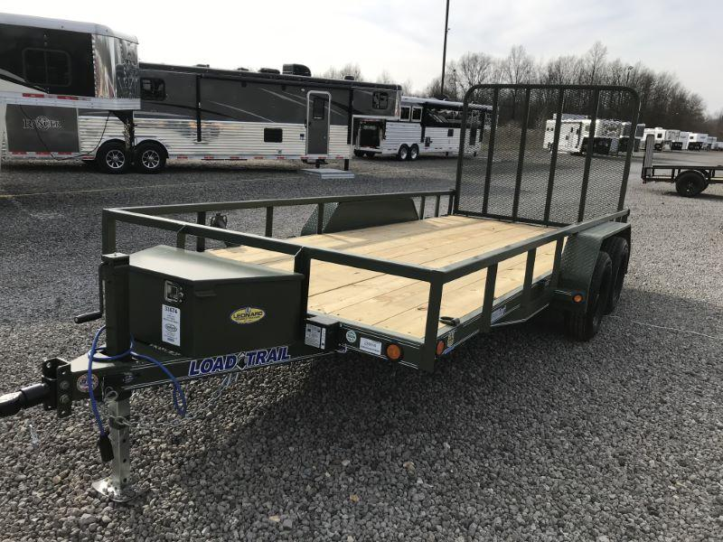 2021 16'  LOAD TRAIL BUMPER PULL UTILITY TRAILER