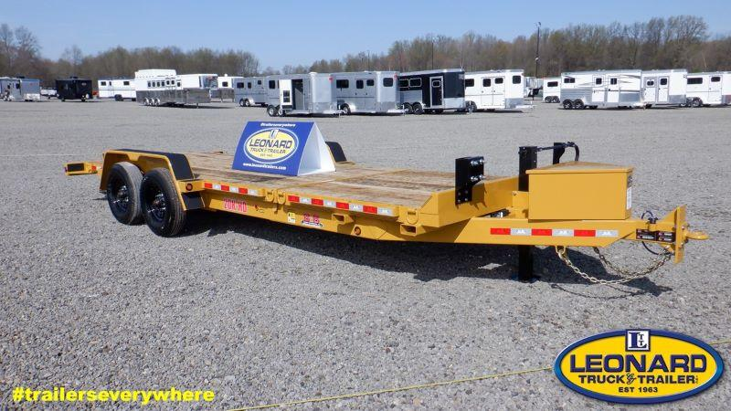 "2021 6'8"" X 22 B-B TAG EQUIPMENT TRAILER"