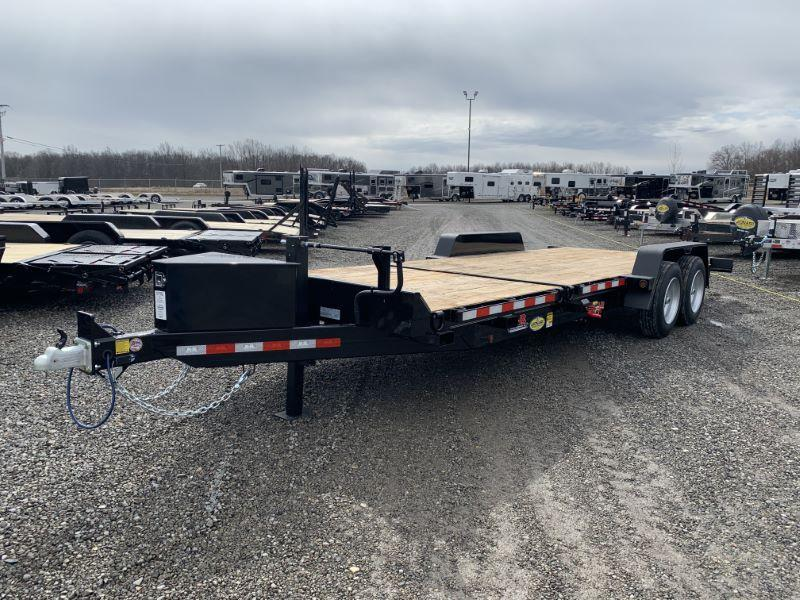"2020 6'8"" X 22 B-B TAG EQUIPMENT TRAILER"