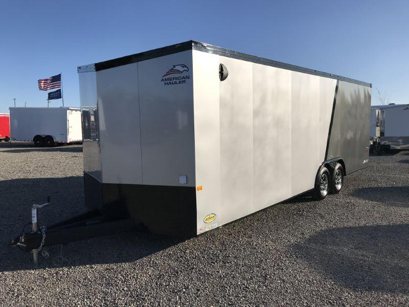 2021  8.5X24  AMERICAN HAULER BUMPER PULL ENCLOSED CAR TRAILER