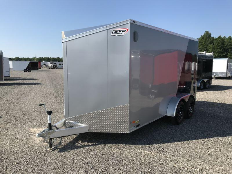2020 7X14 BRAVO BUMPER PULL ENCLOSED CARGO TRAILER