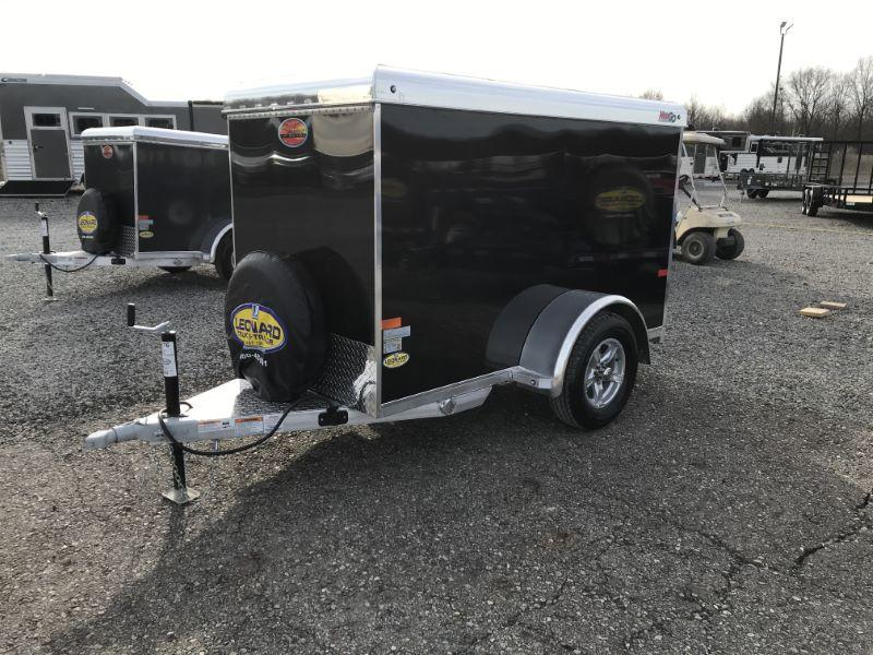 2021  4X8  SUNDOWNER BUMPER PULL ENCLOSED CARGO TRAILER